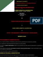 Actos y Procedimiento Administrativo y Disciplinario