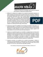 Declaración Pública Feuv frente a la situación de humanidades.docx