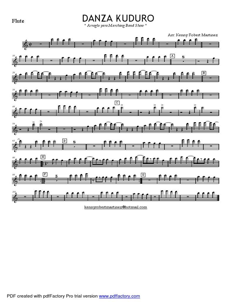 Danza Kuduro PDF