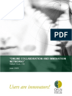 Ozan, H. (2009). Online Collaboration and Innovation Networks