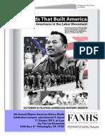 FANHS PA program for #fahm2013 October 11, 2013 Philadelphia