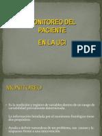 Monitoreodelpaciente en La Uci