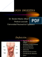 FISIOLOGIA  DIGESTIVA 2012 1