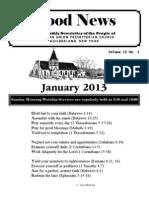GoodNews - January 2013