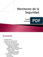Security Monitoring 2012