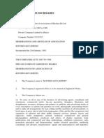 Tr de Documentos de Sociedades