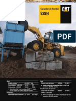 Catalogo Cargador Frontal 938h Caterpillar
