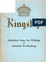 KINGSHIP Selections From the Writings of Emanuel Swedenborg C.a.hall SwedenborgSociety 1937