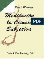Meditacion La Ciencia Subjetiva