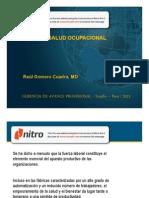 Ponencia Salud Ocupacional
