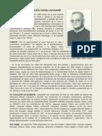 Cargos y actividades del Padre Dávila G. (1984)