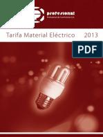 Profesional Sa Tarifa Electrico Mayo2013