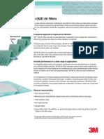 3M™ High Air Flow (HAF) Air Filters - Data Sheet
