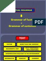 Textual Grammar Lecture 16 17