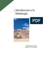 Tarea Introducción a la Metalurgia