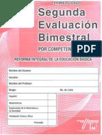 Examen 2do Bim Primer Grado Editorial