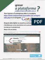 Instrucciones Campus Virtual