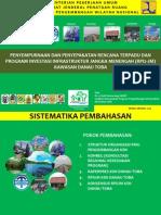 Presentation of Penyepakatan Rencana Terpadu Dan Program Investasi Infrastruktur Jangka Menengah (RPI2JM) Kawasan Strategis Nasional (KSN) Danau Toba