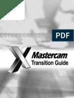 MasterCAM X Transition Guide