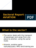 Aviation in India - A Sectoral Analysis