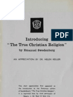 Helen Keller INTRODUCTION TO THE TRUE CHRISTIAN RELIGION Everyman's Library Edition 1933 SwedenborgSociety