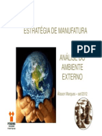 Aula 2 - Analise Ambiente Externo