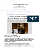 Respuesta Del Ing. Aguilar Al Min. PP EE_ Declaraciones EU_14 de Octubre de 2013