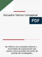 Encuadre Te�rico Conceptual.ppt