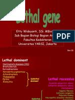 Presentasi Gen Letal (131109)