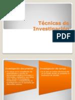 T�cnicas de Investigaci�n.pptx
