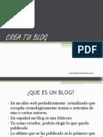 T15 Crea Tu Blog