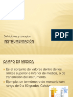 Instrumentación (1)