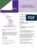PDA Bulletin September 2013