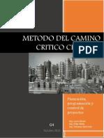 Aplicacion Practica Del Metodo Del Camino Critico