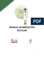 MANUAL DE MEDIACIÓN ESCOLAR