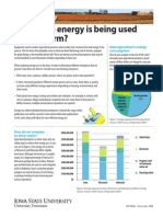 Energy Used in Farm PM2089A