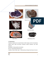 Artikel tentang Silika,Oksida Dan Sulfida