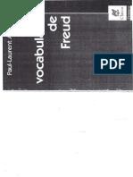 El vocabulario de Freud - Paul-Laurent Assoun - Ed. Nueva Visión [Escaneado]