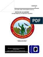 2008 Us Army Senior Leader's Environmental Awareness Training 107p