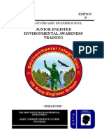2008 Us Army Junior-Enlisted Environmental Awareness Training 49p