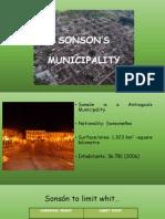 SONSON'S MUNICIPALITY