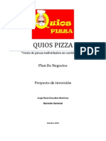 QUIOSS Pizza-Plan de Negocios