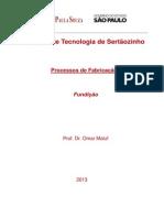 01 - Apostila de Fundição FATEC 01 2013