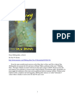 """""""Biblical Stoning,"""" a chapter from Walking Man, a novel by Tim W. Brown"""