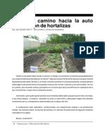 autoproducción de hortalizas