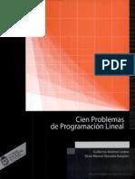 Cien Problemas de Programacion Lineal