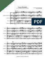 Canon Marziale (Sax Quartet)