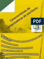 Caractersticas de Computadoras