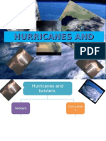 the hurricanes and twisters