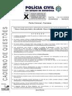 Funcab 2009 Pc Ro Perito Criminal Farmacia x Prova